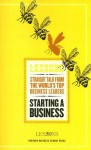 Starting a Business (Lessons Learned) - Fifty Lessons