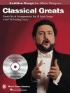Classical Greats - Audition Songs for Male Singers - Hal Leonard Publishing Company
