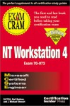 MCSE NT Workstation 4 Exam Cram - Ed Tittel, James Michael Stewart, Kurt Hudson
