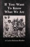 If You Want to Know What We Are: A Carlos Bulosan Reader - Carlos Bulosan, E. San Juan Jr., Leigh Bristol-Kagan