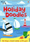 Holiday Doodles (Usborne Activity Cards) - Fiona Watt, Non Figg