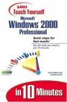 Poznaj Microsoft Windows 2000 Professional W 10 Minut - Jane Calabria, Dorothy Burke