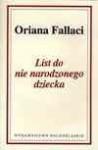 List do nie narodzonego dziecka - Oriana Fallaci, Eugeniusz Kabatc