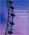 Functions Modeling Change: A Preparation for Calculus - Eric Connally, Andrew M. Gleason, Philip Cheifetz, Ann Dividian, Deborah Huges-Hallett