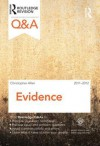 Q&A Evidence 2011-2012 - Christopher Allen