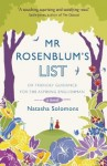 Mr Rosenblum's List: Or Friendly Guidance for the Aspiring Englishman - Natasha Solomons