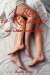 A Ride to Remember and Other Erotic Tales - Sacchi Green