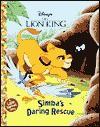 Simba's Daring Rescue (Jellybean Books(R)) - Walt Disney Company, Andrea Posner-Sanchez, Don Williams