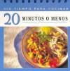 Es Easel Cookbook 20 Minutos O Meno (Easel Cookbooks) - Publications International Ltd.
