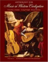 Anthology for Music in Western Civilization, Vol. 1: Antiquity Through the Baroque - Timothy J. Roden, Craig Wright, Bryan R. Simms