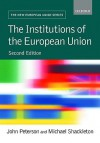 The Institutions of the European Union - John Peterson