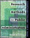 Research Methods For Public Administrators - Elizabethann O'Sullivan, Gary R. Rassel