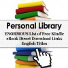 Personal Library - English Book Titles in Alphabetic Order - George Chityil, Personal Library