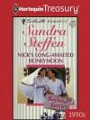 Nick's Long-Awaited Honeymoon (Harlequin Silhouette Romance) - Sandra Steffen