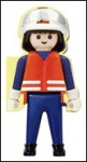 Fireman Hank Takes Charge [With Plastic Legs & Feet That Can Sit or Stand] - Paul Flemming, Paul Amesbury