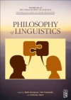 Philosophy of Linguistics - Dov M. Gabbay, Paul R. Thagard, John Hayden Woods