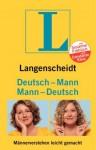Langenscheidt Deutsch - Mann / Mann - Deutsch - Constanze Kleis, Susanne Fröhlich, Langenscheidt