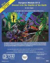 Descent into the Depths of the Earth : Advanced Dungeons and Dragons, Module D1-2 - Gary Gygax