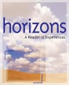 Horizons: A Reader of Experiences - HMCO, Barbara Goldsmith, Jack Waugh, Karen Linsky