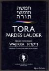 Tora Pardes Lauder. Wajikra - Księga Kapłańska - autor nieznany, Sacha Pecaric