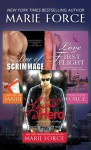 Marie Force Bundle: Line of Scrimmage, Love at First Flight, Everyone Loves A Hero - Marie Force