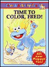 Time to Color, Fred! (Coloring Book) - Lauren Attinello