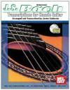 Mel Bay J. S. Bach Transcriptions for Classic Guitar - Javier Calderon