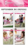 Harlequin Romance September 2013 Bundle: Bound by a BabyIn the Line of DutyPatchwork Family in the OutbackStranded with the Tycoon - Kate Hardy, Ami Weaver, Soraya Lane, Sophie Pembroke