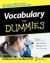Vocabulary For Dummies - Laurie E. Rozakis