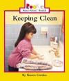 Keeping Clean - Sharon Gordon