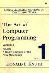 The Art of Computer Programming, Volume 1, Fascicle 1: MMIX -- A RISC Computer for the New Millennium - Donald Ervin Knuth