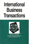International Business Transactions in a Nutshell - Ralph H. Folsom, Michael Wallace Gordon