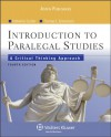 Introduction Paralegal Studies: Critical Thinking Approach 4 Ed - Katherine A. Currier