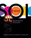 Sol y Viento, Volume 2: Beginning Spanish - Bill VanPatten, Michael Leeser, Gregory D. Keating