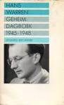 Geheim dagboek (1945 - 1948) - Hans Warren