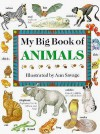 My Big Book of Animals - Jenny Vaughan, Hermes House