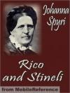 Rico and Stineli. ILLUSTRATED. - Johanna Spyri, Louise Brooks