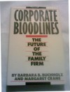 Corporate Bloodlines: The Future of the Family Firm - Barbara Bucholz, Margaret Crane