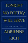 Tonight No Poetry Will Serve - Adrienne Rich