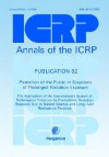 Icrp Publication 82: Protection of the Public in Situations of Prolonged Radiation Exposure: Annals of the Icrp Volume 29/1-2 - ICRP Publishing