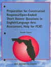 Florida Preparation for Constructed Response/Open-Ended/Short Answer Questions in English/Language Arts Assessment, Second Course - Joan Marie Lindsay, Brian Howell, Annie Hartnett