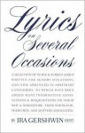 Lyrics on Several Occasions - Ira Gershwin