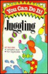 You Can Do It Juggling Book With 4 Juggling Balls - June Ford