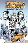 Grrl Scouts Volume 2: Work Sucks (Grrl Scouts) - Jim Mahfood
