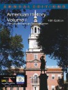 Annual Editions: American History, Volume 1, 16/E - Robert James Maddox