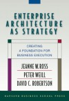 Enterprise Architecture As Strategy: Creating a Foundation for Business Execution - Jeanne W. Ross, Peter Weill, David C. Robertson, David Robertson