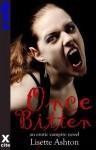 Once Bitten - An erotic vampire novel with lesbian and menage themes - Lisette Ashton