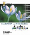 Elementary and Intermediate Algebra: Concepts and Applications Value Pack (Includes Math Study Skills & Mymathlab/Mystatlab Student Access Kit ) - Marvin L. Bittinger, David J. Ellenbogen, Barbara L. Johnson