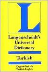Langenscheidt Universal Dictionary Turkish/English-English/Turkish - Langenscheidt