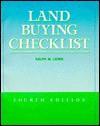 Land Buying Checklist - Ralph M. Lewis